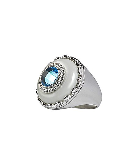 Topaz & White Madison Ring