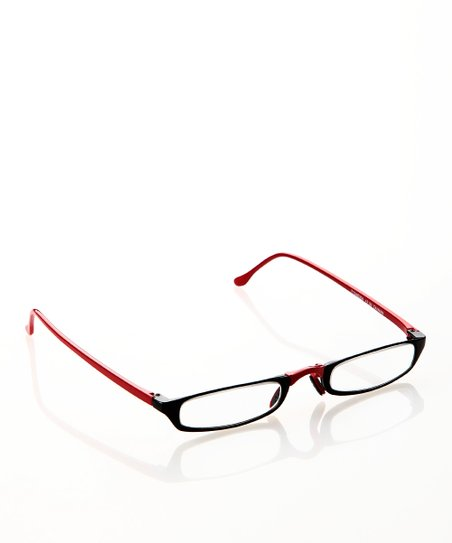Red &amp; Black Slim Readers