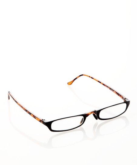 Tortoise & Black Slim Readers