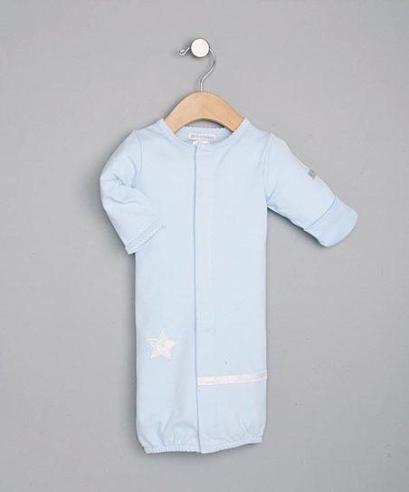 Blue Convertible Gown - Infant