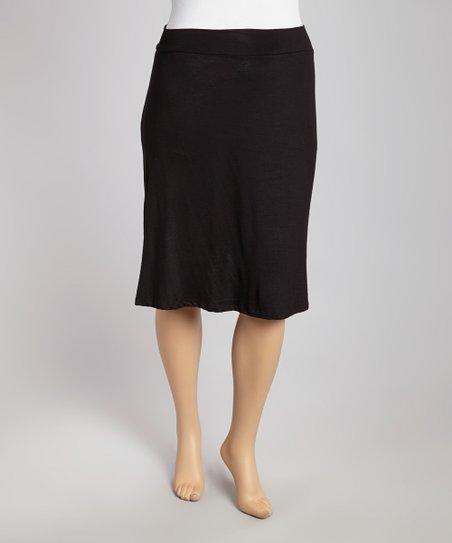 Black Skirt - Plus
