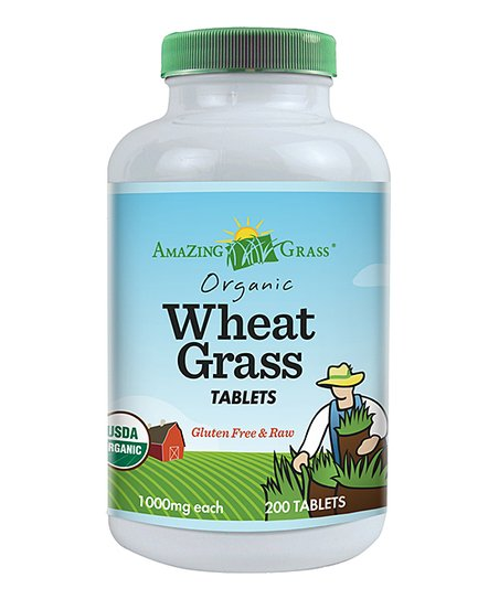 Organic Wheat Grass Tablets – 200 count