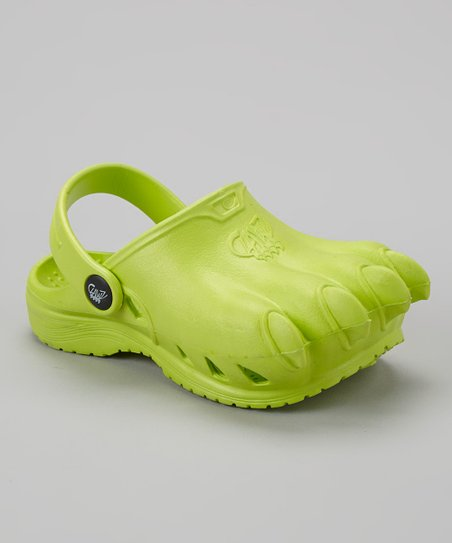 Green Classic Clawz Water Shoe - Kids
