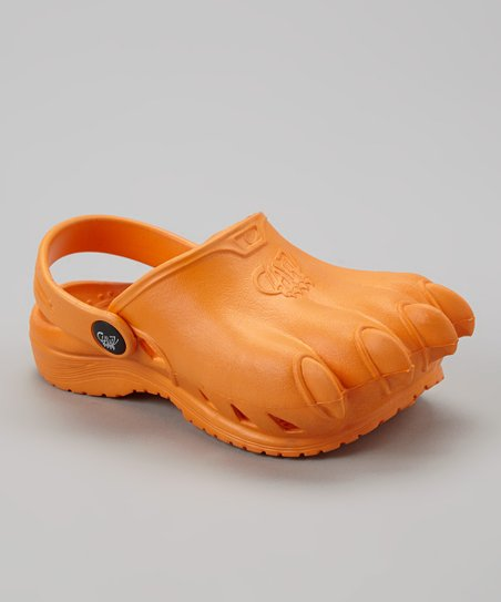 Orange Classic Clawz Water Shoe - Kids