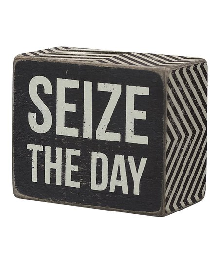 'Seize the Day' Wall Sign