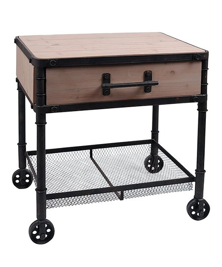 Industrial Planter Stand