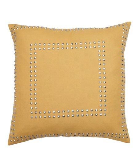 Samoan Sun Gaga Nailhead 18'' Throw Pillow