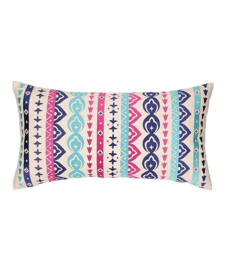 Jewel Stripe Rectangular Pillow
