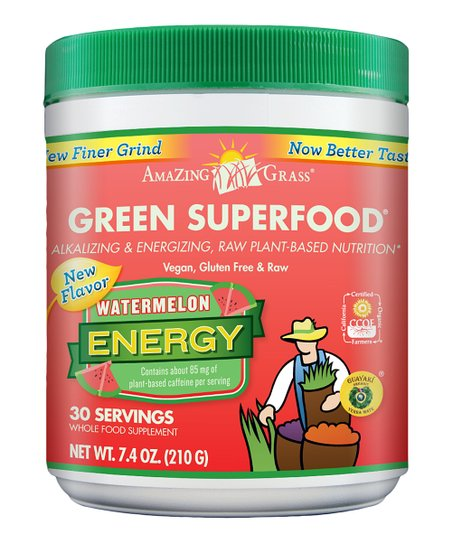 Watermelon Energy InfusionGreen SuperFood Powder