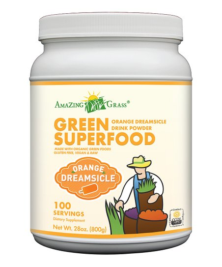 Orange Dreamsicle 28-Oz. Green SuperFood Powder