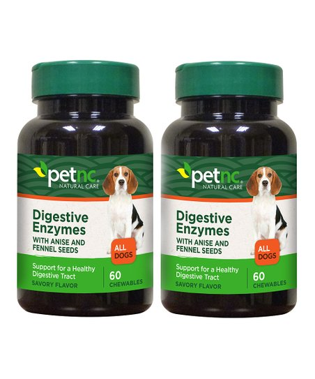 PetNC Digestive Enzymes Supplement – Set of Two