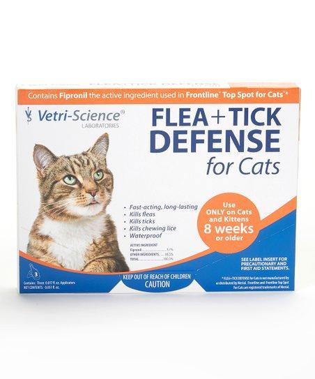 Flea & Tick Defense for Cats & Kittens