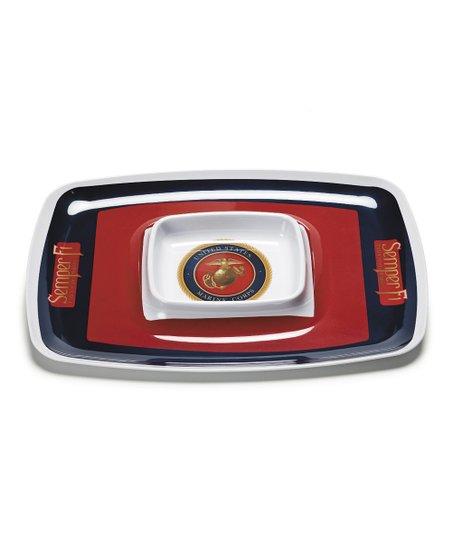 Marine Corps Chip 'n' Dip Tray