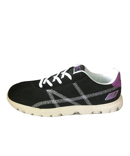 Black & Purple 810 Sneaker
