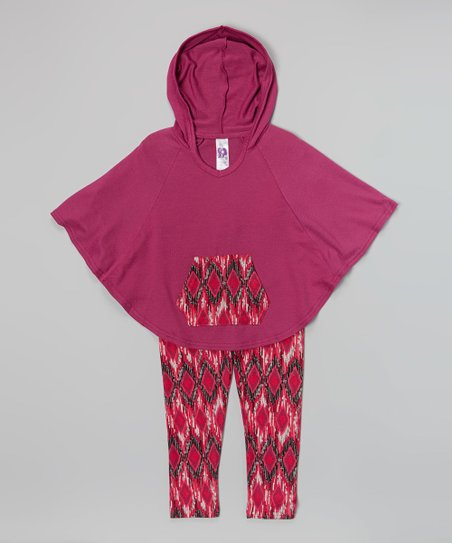 Magenta Tribal Tunic & Leggings – Girls
