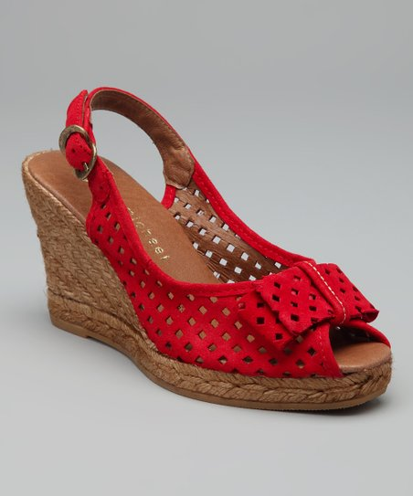 Red Ashley Espadrille