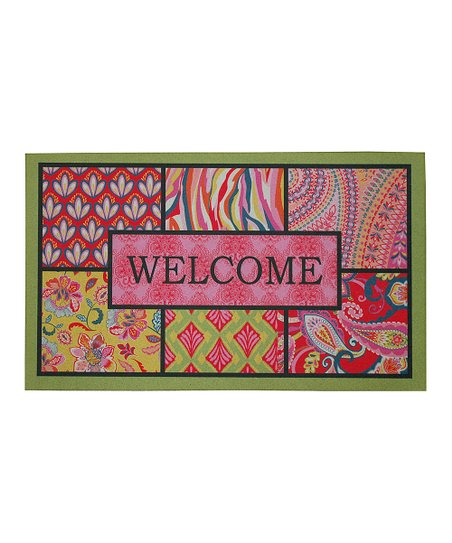 'Welcome' Bohemian Doormat
