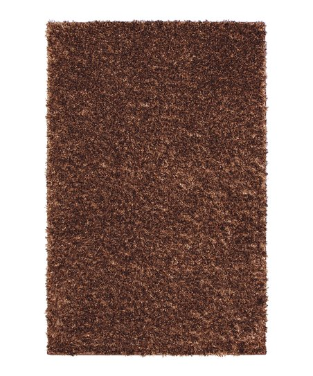 Copper Nugget Metal Flake Shag Rug