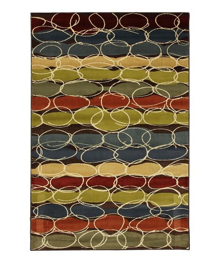 Layered Bubbles Rug