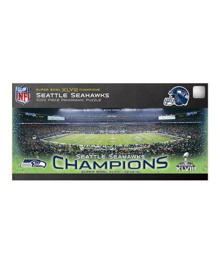 Seattle Super Bowl Champs Panoramic Stadium Puzzle