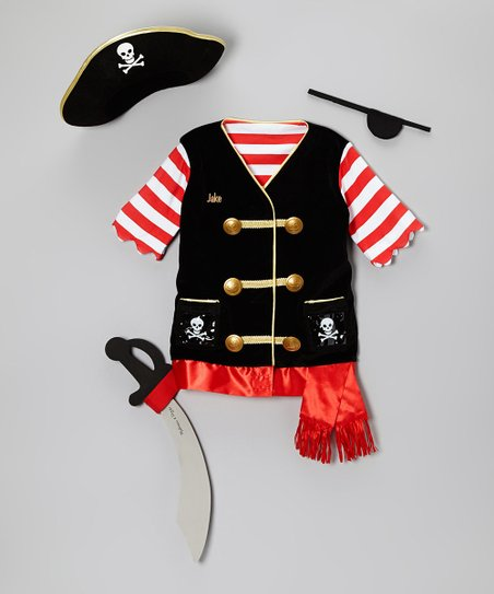 Personalized Pirate Dress-Up Set