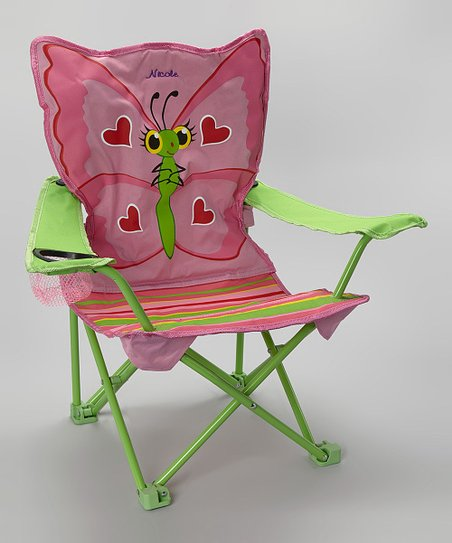 Personalized Bella Butterfly Chair