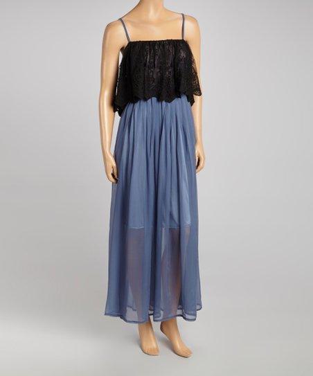 Sky Sloane Silk Maxi Dress