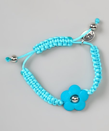 Blue Flower Love Couture Baby Bracelet