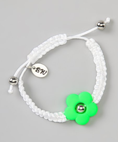Green Flower Love Couture Baby Bracelet