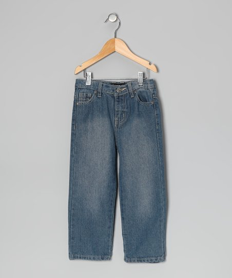 Light Blue Straight-Leg Jeans - Toddler & Boys