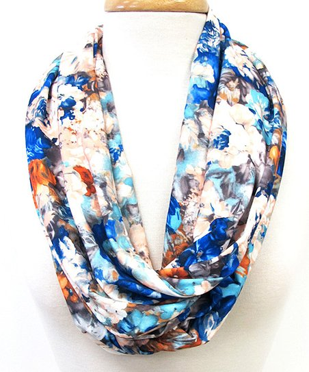 Blue Pretty Little Thing Infinity Scarf