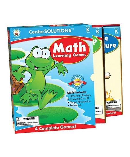 Math Learning Kindergarten Game Set