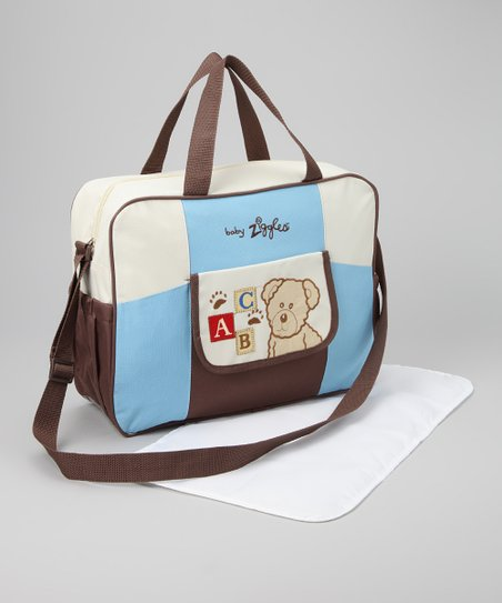 Blue & White Diaper Bag