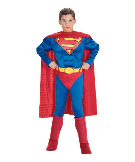 Deluxe Superman Muscular Dress-Up Set - Toddler & Boys