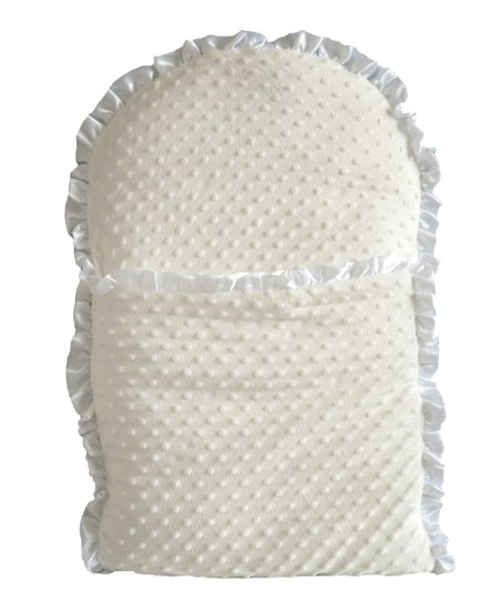 White Whimsical Nap Mat