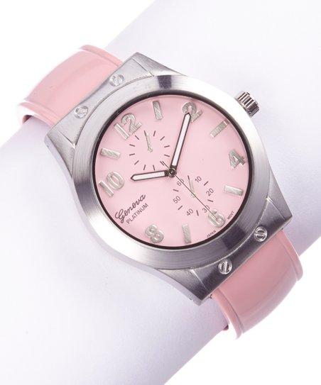 Pink Pastel Cuff Watch