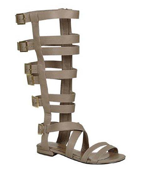 Beige Peru Gladiator Sandal