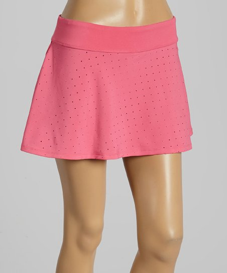 Pink Shock Baseline Fashion Skirt - Women