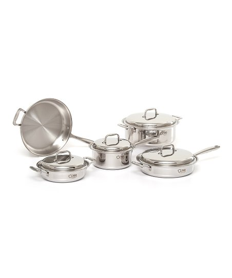 Nine-Piece Cookware Set