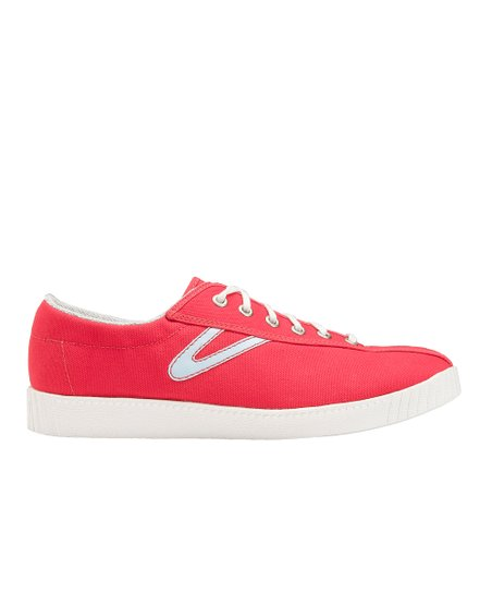 Red & Starlight Blue Nylite Canvas Sneaker - Women & Men
