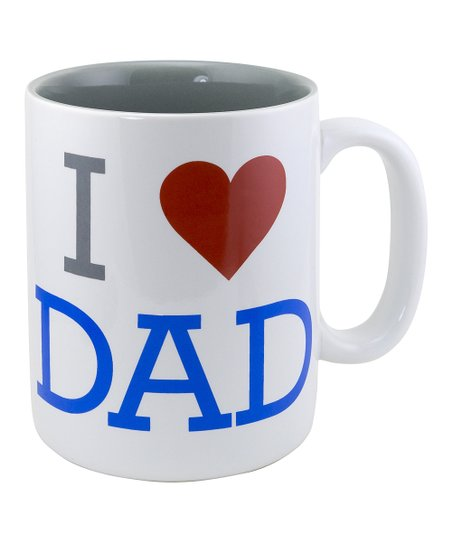 'I Love Dad' Sunnyside Up Mug
