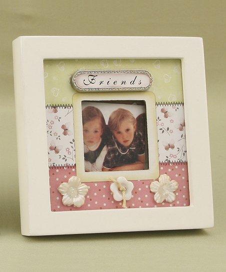 Floral 'Friends' Frame