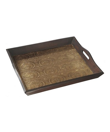 Gold Stamped Serving Tray