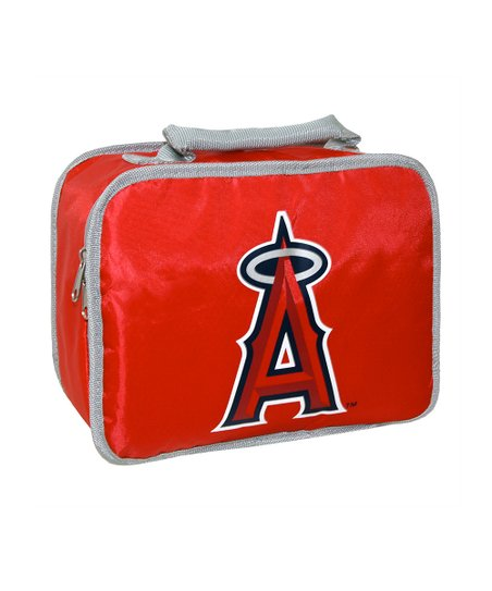 Red Lost Angeles Angels Classic Lunch Break Lunch Box