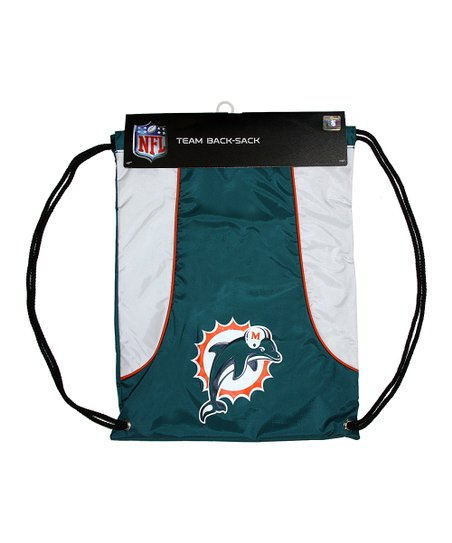 Teal Miami Dolphins Axis Drawstring Backpack