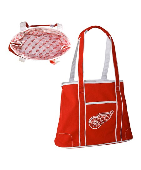 Red Detroit Red Wings Hampton Tote