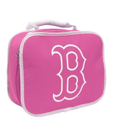 Pink Boston Red Sox Classic Lunch Break Lunch Box