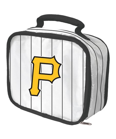 White Pittsburgh Pirates Lunch Break Lunch Box