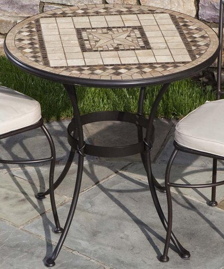 Basilica Mosaic Bistro Table