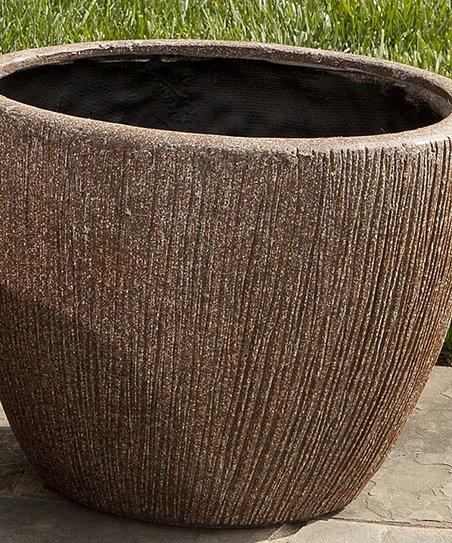 Earthstone Graffiato Round Planter
